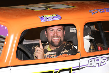 Travis McClelland Tops Central PA Legends Field at BAPS