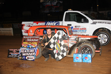 Mason Chaney with Second Lincoln Win of 2019