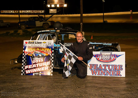 Bob Stough wins again at Path Valley Speedway!
