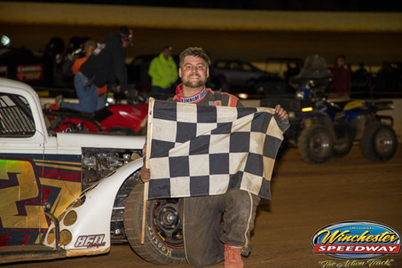 Austin Bellemare Races Back to Legends Victory Lane at Winchester