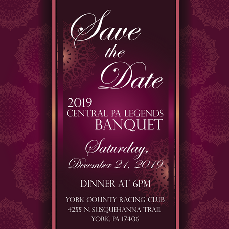 2019 Central PA Legends Awards Banquet Tickets on Sale Now!