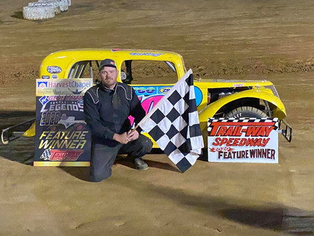 Jeremy Ott Races to First Career Trail-Way Victory