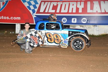 Invader Landen Lewis Takes Win at Big Diamond