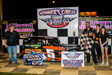 Houdeshell Two-for-Two With Win at Path Valley Speedway Park