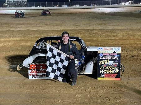 Stephen Wurtzer Grabs 1st Career Legends Win at Trail-Way Speedway