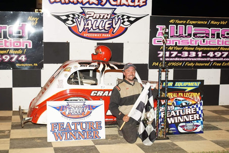 Bill Diehl Scores 3rd Legends Win of 2019 at Path Valley