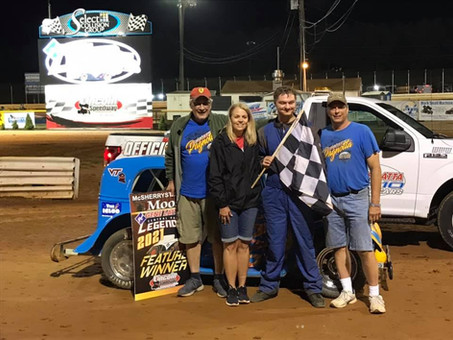Pagnotta Wins First Career Legends Feature at Lincoln