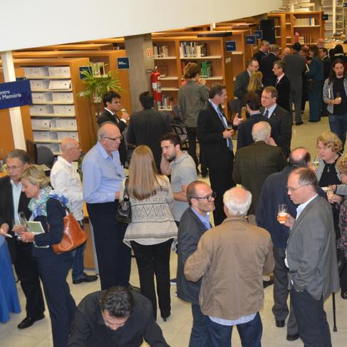 Fotos do Lançamento do Anuário do Instituto Martius-Staden