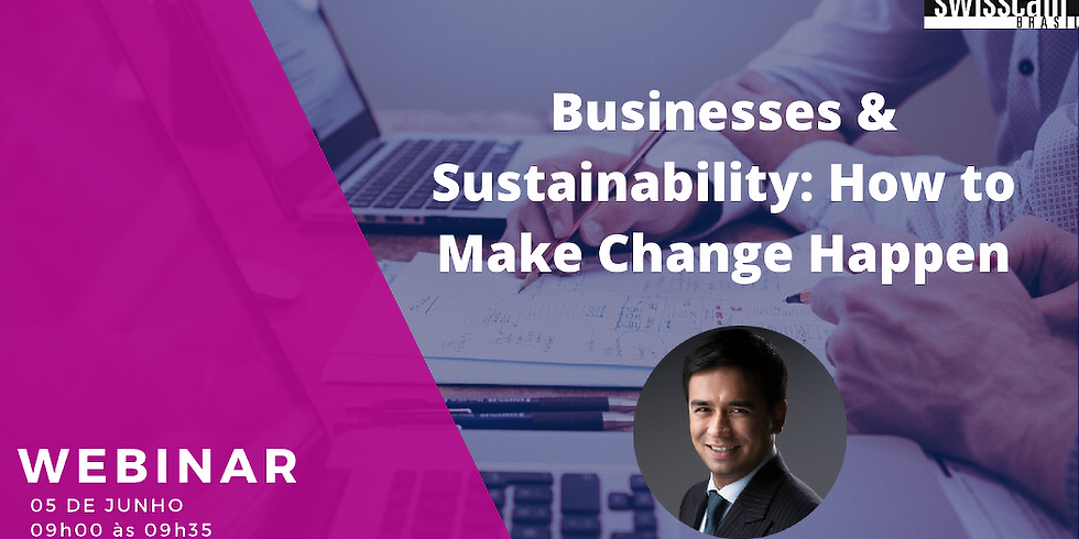 Webinar SWISSCAM – Businesses & Sustainability...