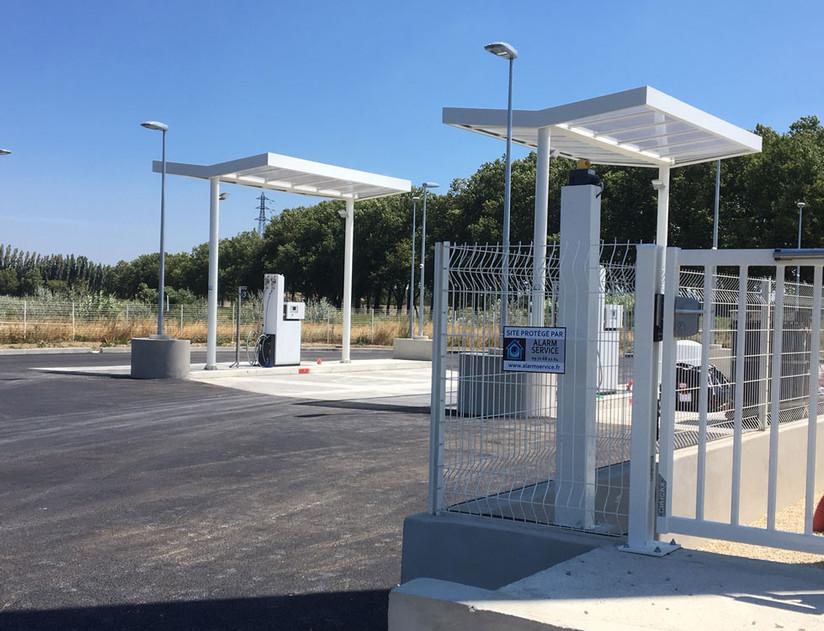 Installation d'un système d'alarme et de vidéosurveillance à Lyon sur une station de gaz
