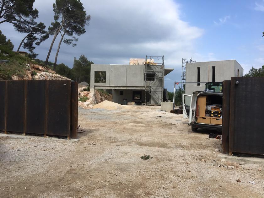 Installation d'un système d'alarme et vidéosurveillance sur chantier