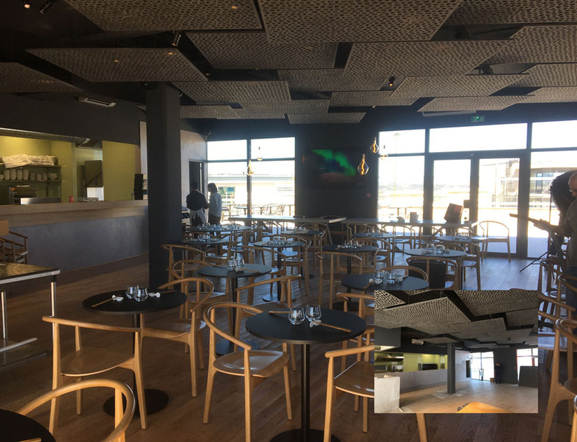 Sécurisation d'un nouveau restaurant dans la zone des Milles