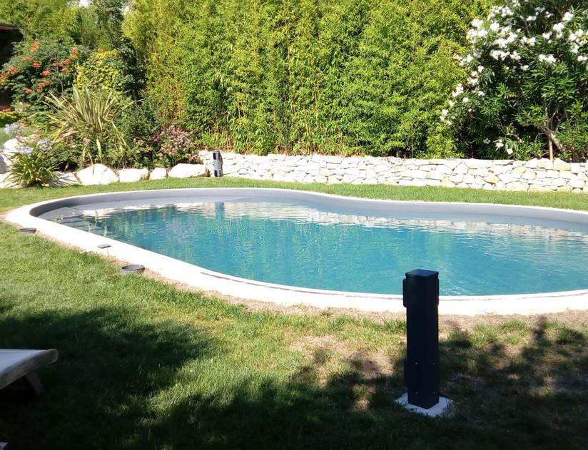 Sécurisation d'un espace piscine chez un particulier