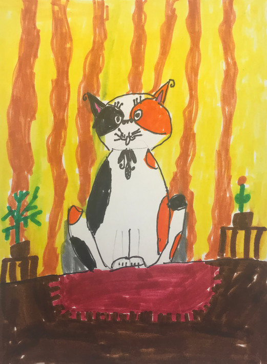 PAUL KLEE CAT BY MAX