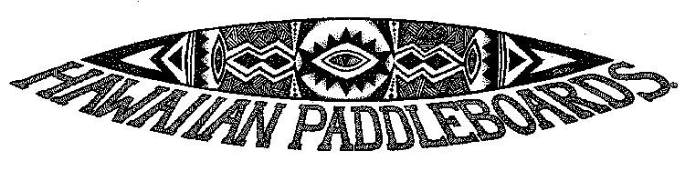 HAWAIIAN PADDLEBOARDS