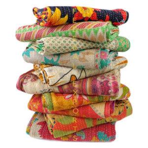 Vintage Kantha Quilts  1 & 2