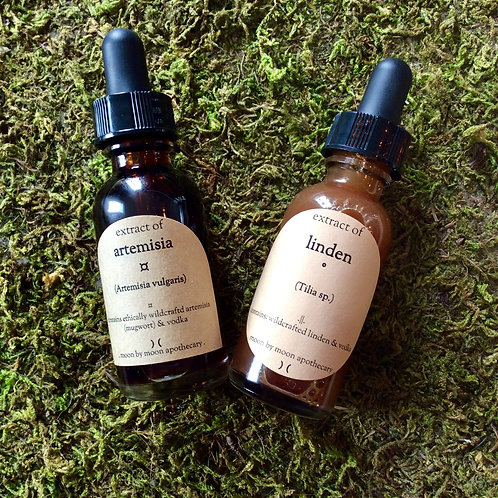 """Simples - Single Herb Tinctures """"Moon by Moon"""""""