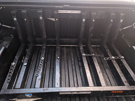An efficient cost effective bike rack