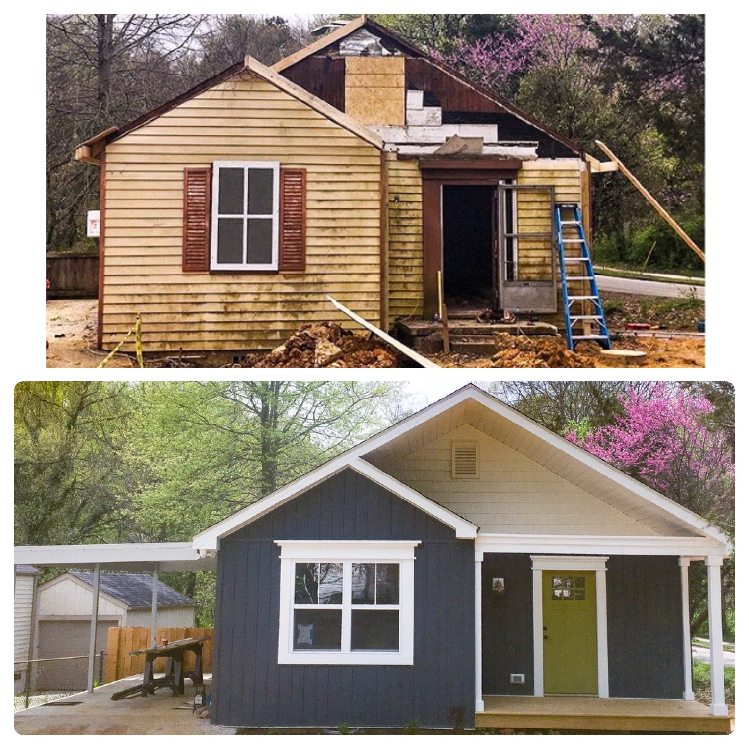 Cottage Renovation: Before and After