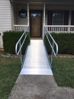 Aluminum Access Ramp