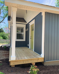 Front Porch Side Elevation