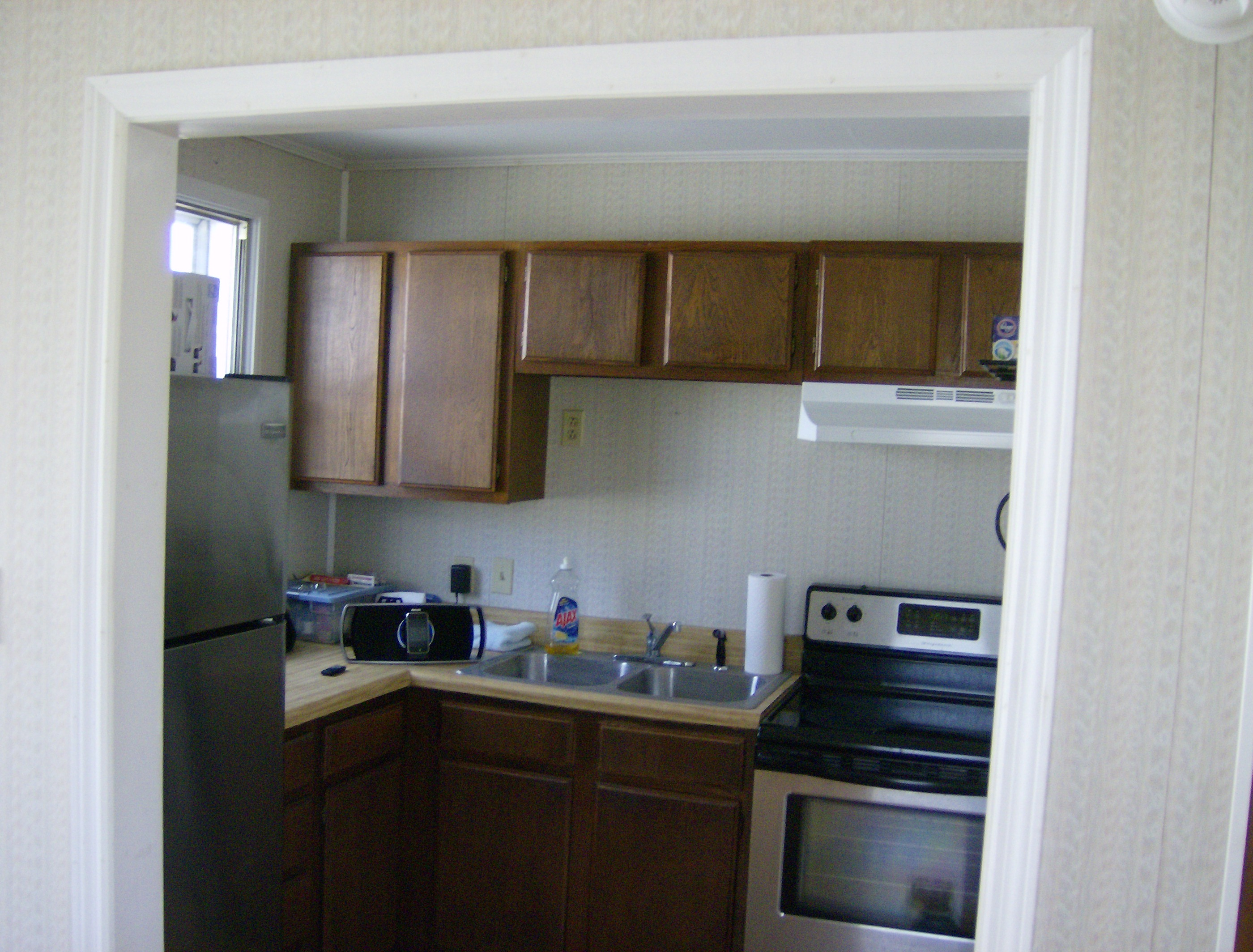 Greenleaf Kitchen Before