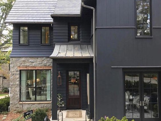 Our Favorite Current Home Trend:  Dark Exteriors
