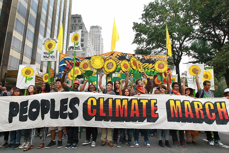 Largest Climate Protest in America