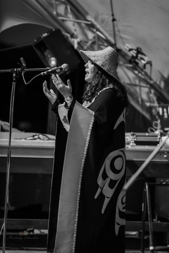 Singing a Haida Eagle Spirit Song