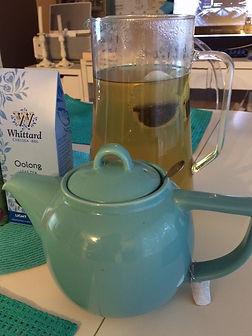 Home brewed tea