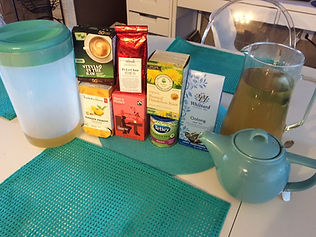 Herbal Tea and Green Teas