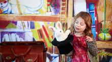 Stage de magie avec les enfants du centre de loisirs Berliet à Saint-Priest