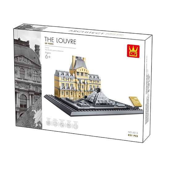 Wange 4213 The Louvre 785 Bausteine