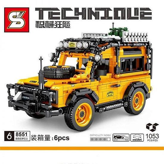 Sembo 8551 Technique Geländewagen Bausteine 1053