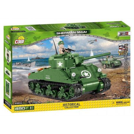 Cobi 2464a Sherman M4A1 Teileanzahl 480
