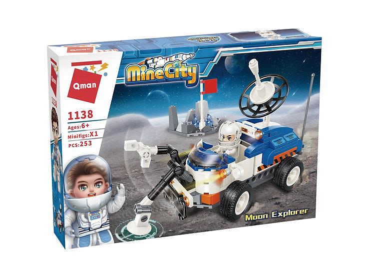 Qman 1138 Mine City Moon Explorer Bausteine 253