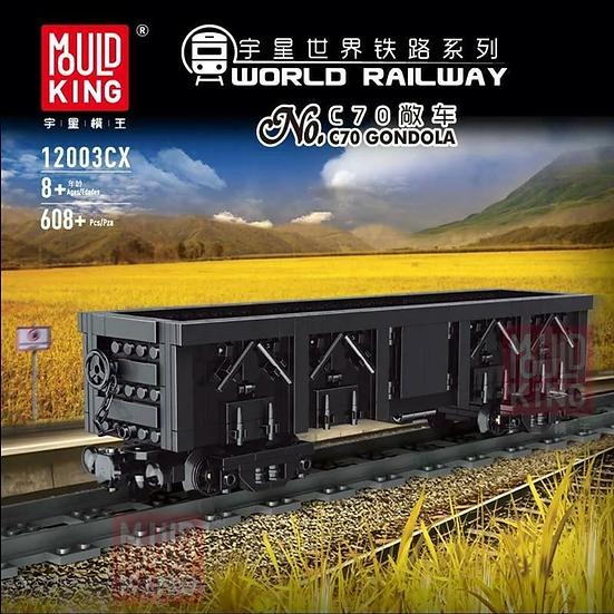 Mould King 12003cx C70 Gondola Bausteine 608