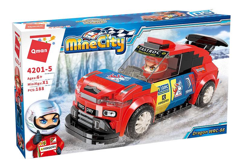 Qman 4201-5 Mine City Dragon WRC-88 Bausteine 188