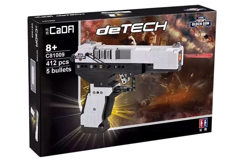 CaDA C81009w MK23 Pistole Teileanzahl 412