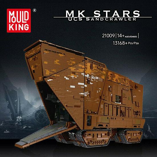 Mould King 21009 Sandcrawler 16168 Bausteine
