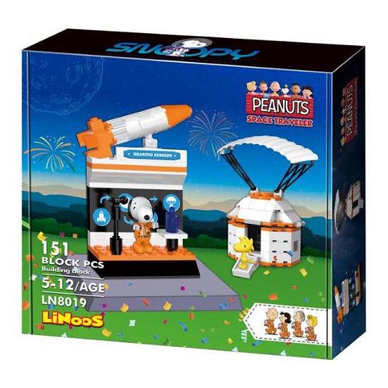 Linoos 8019 Peanuts Landekapsel Bausteine 151