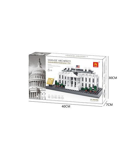 Wange 4214 Washington White House 771 Bausteine
