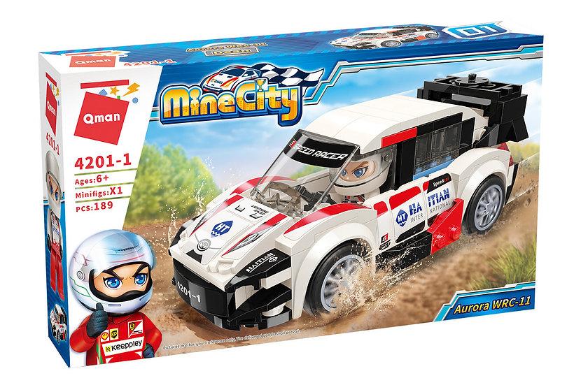 Qman 4201-1 Mine City Aurora WRC 11 Bausteine 189