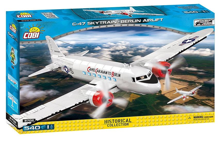 Cobi 5702 Douglas C-47 Skytrain Berlin Airlift Bausteine 550