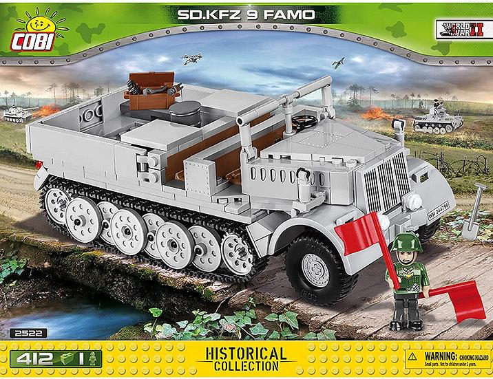 Cobi 2522 SD.KFZ 9 FAMO Teileanzahl 412