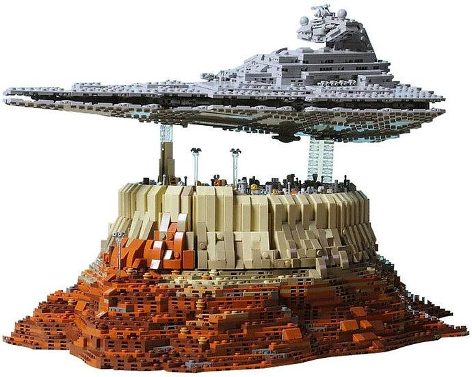 Mould King 21007 Empire over Jedar City 5162 Bausteine