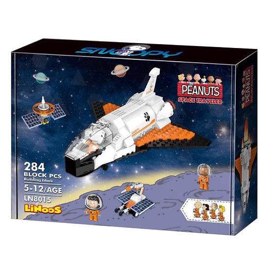 Linoos 8015 Peanuts Space Shuttle Bausteine 284