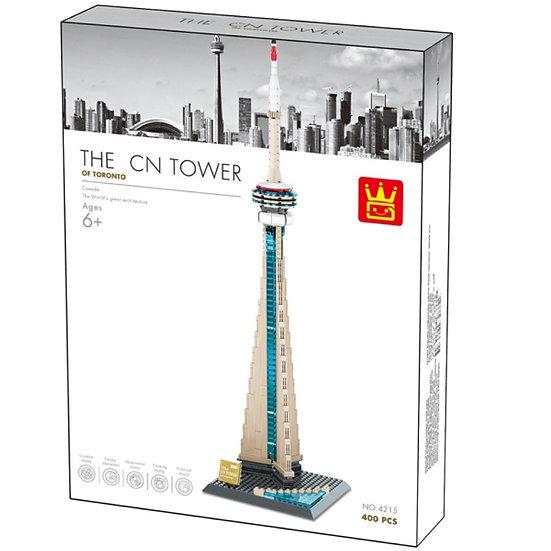 Wange 4215 CN Tower Toronto 400 Bausteine
