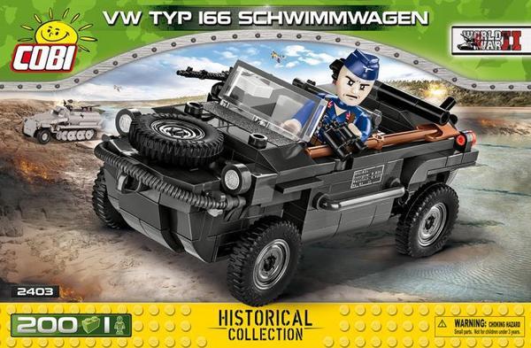 Cobi 2403 VW TYP 166 Schwimmwagen Bausteine 200