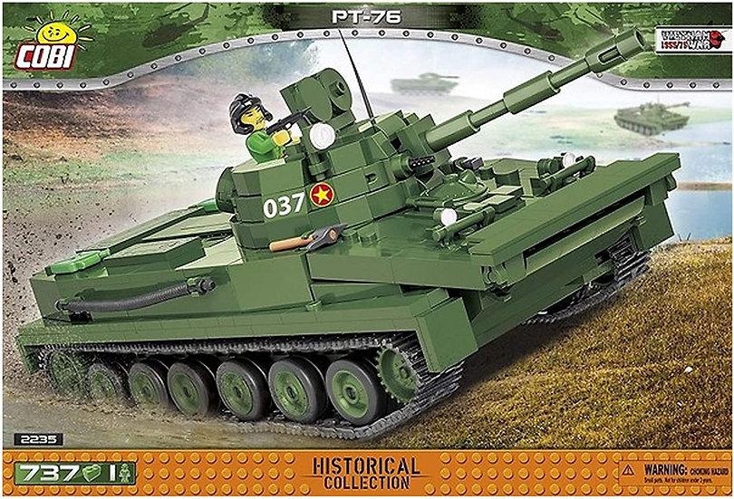Cobi 2235 PT 76 schwimmender Tank Teileanzahl 737